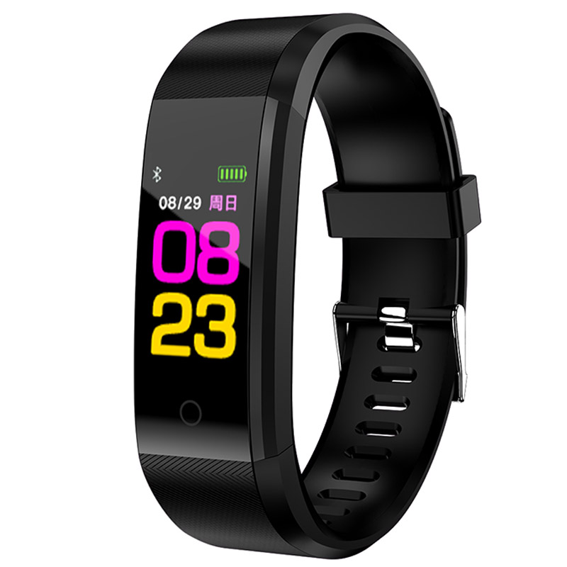 Smart Wrist Band Bracelet Fitness Heart Rate Blood Pressure Pedometer Sports Wristband Smart Watch Men Women For IOS Android цена