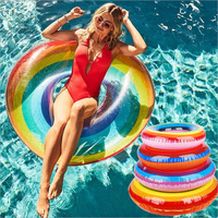 New Style Adult Toys Water Inflatable Toy Swimming Ring Inflatable Floating Bed Water Mount Floating Row Pool Toys
