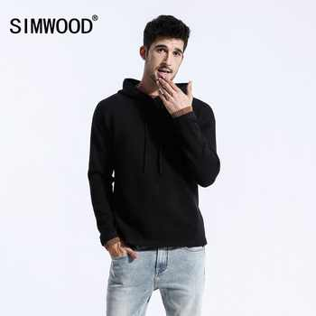 SIMWOOD 2019 Autumn Winter New Sweaters Men Casual Slim Fit Knitted Pullovers Men pull homme Brand Clothing Free Shipping 180461 - DISCOUNT ITEM  49% OFF All Category