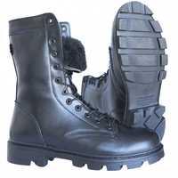 Echtes leder schwarz stiefeletten mit fell und schnürsenkel männer hohe schuhe flache military stiefel 0049's 11 ZA