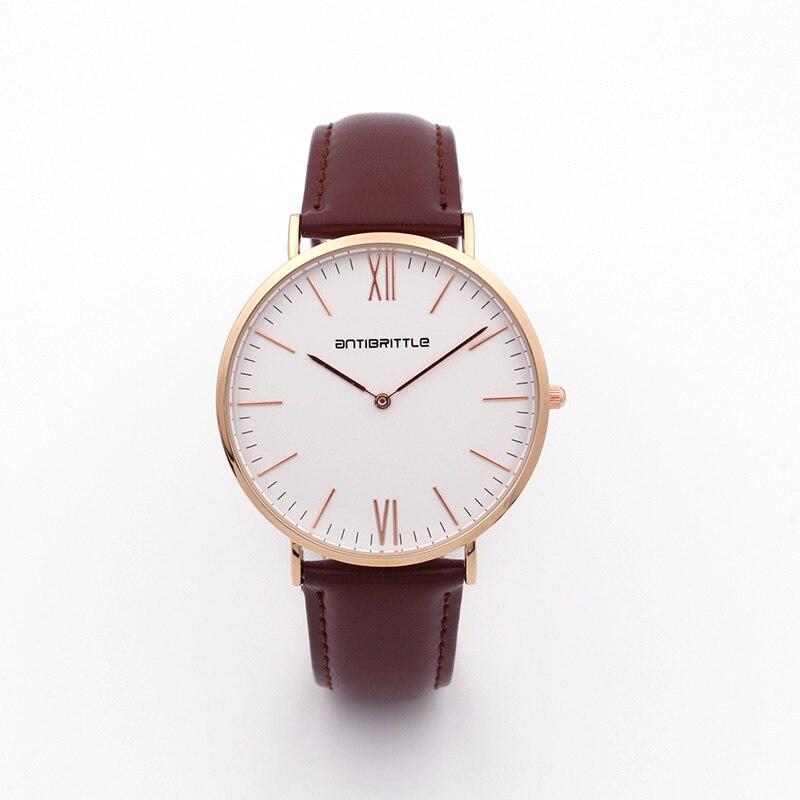 Люкс Brand Quartz Women Mesh Watches Men Жіңішке - Әйелдер сағаттары - фото 3