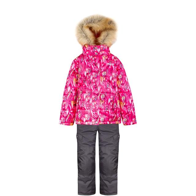 Комплект (куртка, полукомбинезон) GUSTI для девочек зимний GWG 4643