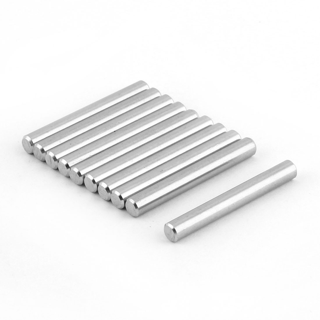 UXCELL Stainless Steel Parallel Round Dowel Pins Fastener Elements 5Mm X 40Mm 10 Pcs