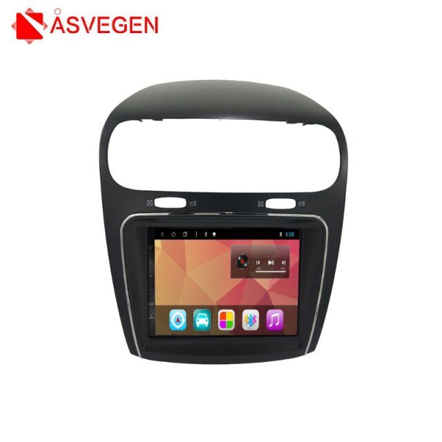 8 inch Android 7.1 Car Multimedia Player For Fiat Freemont RAM 2GB+32GB Car Radio GPS Navigation Multimedia WIFI Player