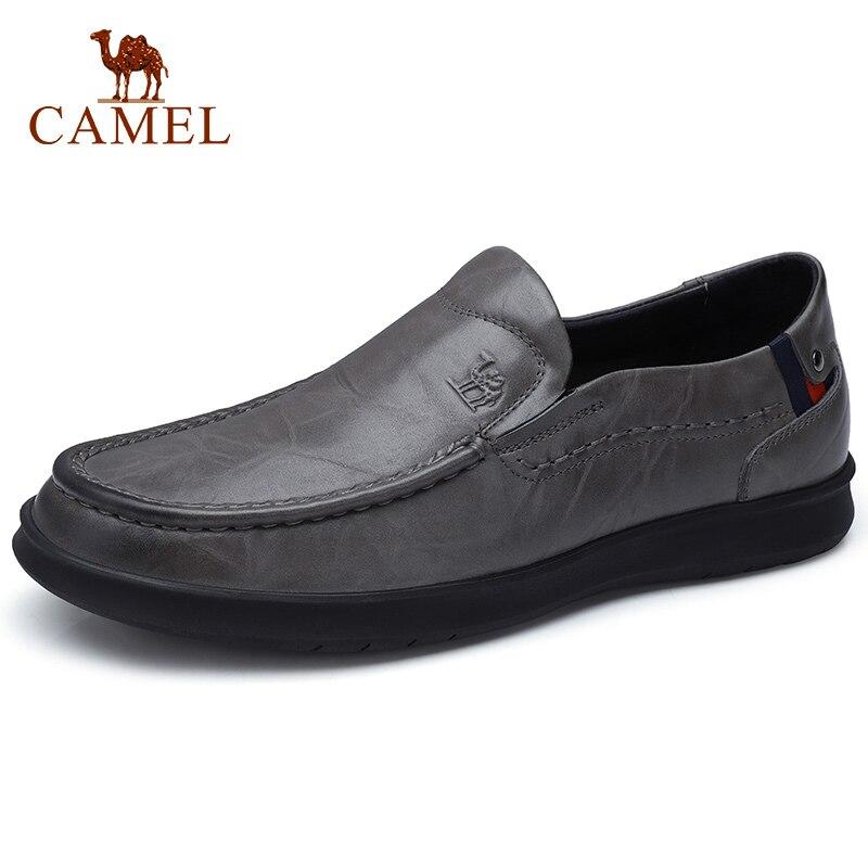 a832155970gray Masculino Sapatos Dos Do Suave Retro Homens Business Camelo Flats A832155970black Casual Genuíno Zero Tendência Mocassins Couro De tqqTwO