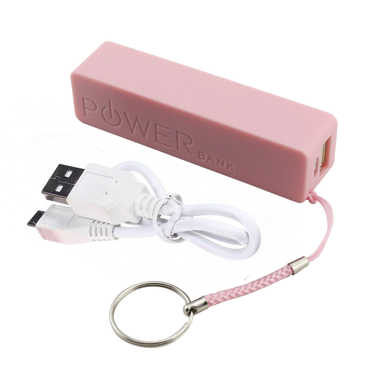 Single Section Charging Treasure Shell Cylinder DIY Free Welding Power Box Battery Shell Portable Power Bank Charger USB