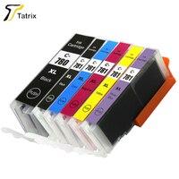 6 PK PGI 780 CLI 781 for Canon Compatible Ink Cartridge PGI 780XL CLI 781XL Ink Cartridge for Canon PIXMA TR8570/TS8170/TS9170