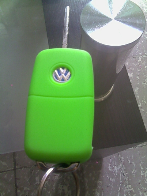 Silicone car key cover case for Volkswagen VW polo passat b5 golf 4 5 6 jetta mk6 tiguan Gol CrossFox Plus Eos Scirocco Beetle