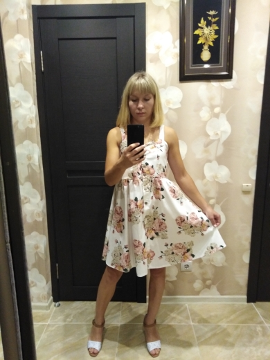 Coming Summer Women Spaghetti Strap Print Floral Sleeveless Empire Beach Dresses High Street Style photo review