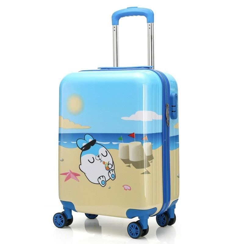 Carry On Enfant Bag Viagem Bavul Valise Voyageur Mala Koffer Children Maleta Trolley Carro Valiz Luggage Suitcase 181920inch