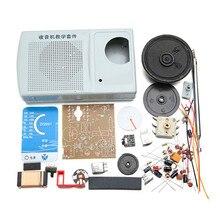 Новое поступление AM, FM Радио комплект DIY ZX2051 Тип IC electroinc обучения комплект люкс 8 Ом