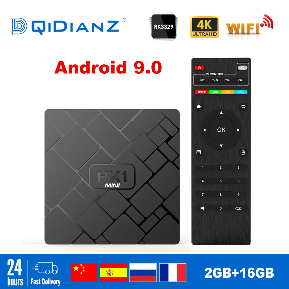 DQiDianZ HK1 mini Smart TV BOX Android 8.1/Android 9.0 2GB 16GB RK3229 Quad-Core WIFI