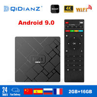 NEW,HK1 mini Smart TV BOX Android 8.1/Android 9.0 2GB+16GB RK3229 Quad Core WIFI 2.4G 4K 3D HK1mini Google Netflix Set Top Box