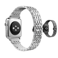 ASHEI Stainless Steel Watchbelt For Apple Watch Band Series 3 Series 2 Series 1 Bracelet Strap