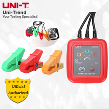 UNI-T UT262A/UT262C Non-Contact Phase Detector;Phase Sequence Detector, Missing Phase/Live Power/Circuit Break/Voltage Detection