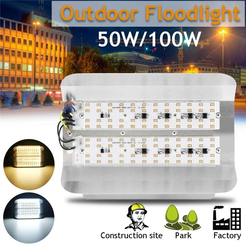 Mising LED Flood Light 50W Projector IP65 Light WaterProof 220V LED FloodLight 100W Outdoor Lighting 30W Wall Light