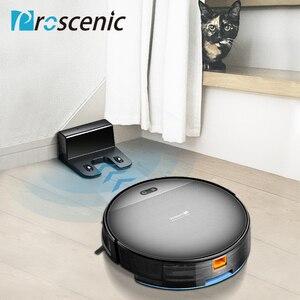 Image 5 - مكنسة كهربائية آلية لكنس الأتربة وتنظيف الأتربة موديل Proscenic 800T تعمل بالريموت كنترول 3 في 1