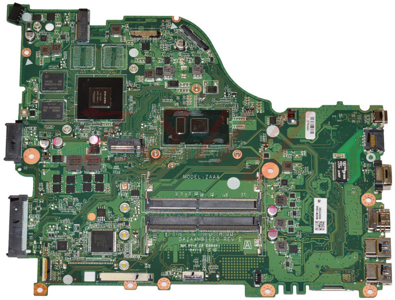 For font b ACER b font E5 575G Laptop Motherboard With i5 6200U CPU 940MX 2GB