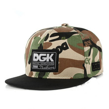 8b09aa42b38 Brand DGK Snapback Caps Flat Hip Hop Baseball Cap Casquette Gorras Hat  Adult Camouflage Adjustable Planas