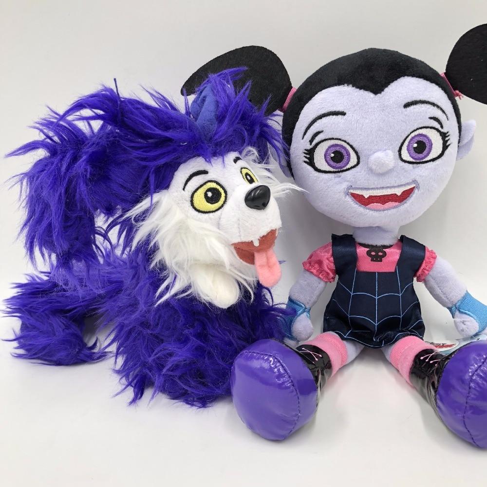 Doggy For Sale Vampirina The Vamp Bat Girl And The Purple Dog Stuffed Animal Plush Doll Toy Gift For The Children Vampire Girl