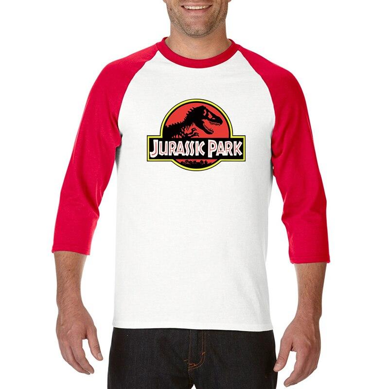 NEW Cool JURASSIC PARK Print Men T Shirt 100% cotton Casual Funny T Shirt Harajuku cozy Tops Tees Hipster White Short Sleeve 1