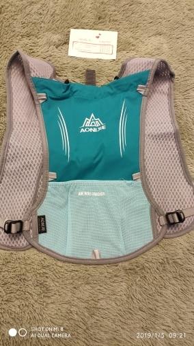 AONIJIE Women Men Lightweight Running Backpack Outdoor Sports Trail Racing Marathon Hiking Fitness Bag Hydration Vest Pack