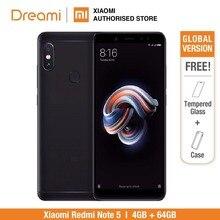 Küresel Sürüm Xiaomi redmi note 5 64 GB ROM 4 GB (Marka Yeni ve Mühürlü) redmi note 5