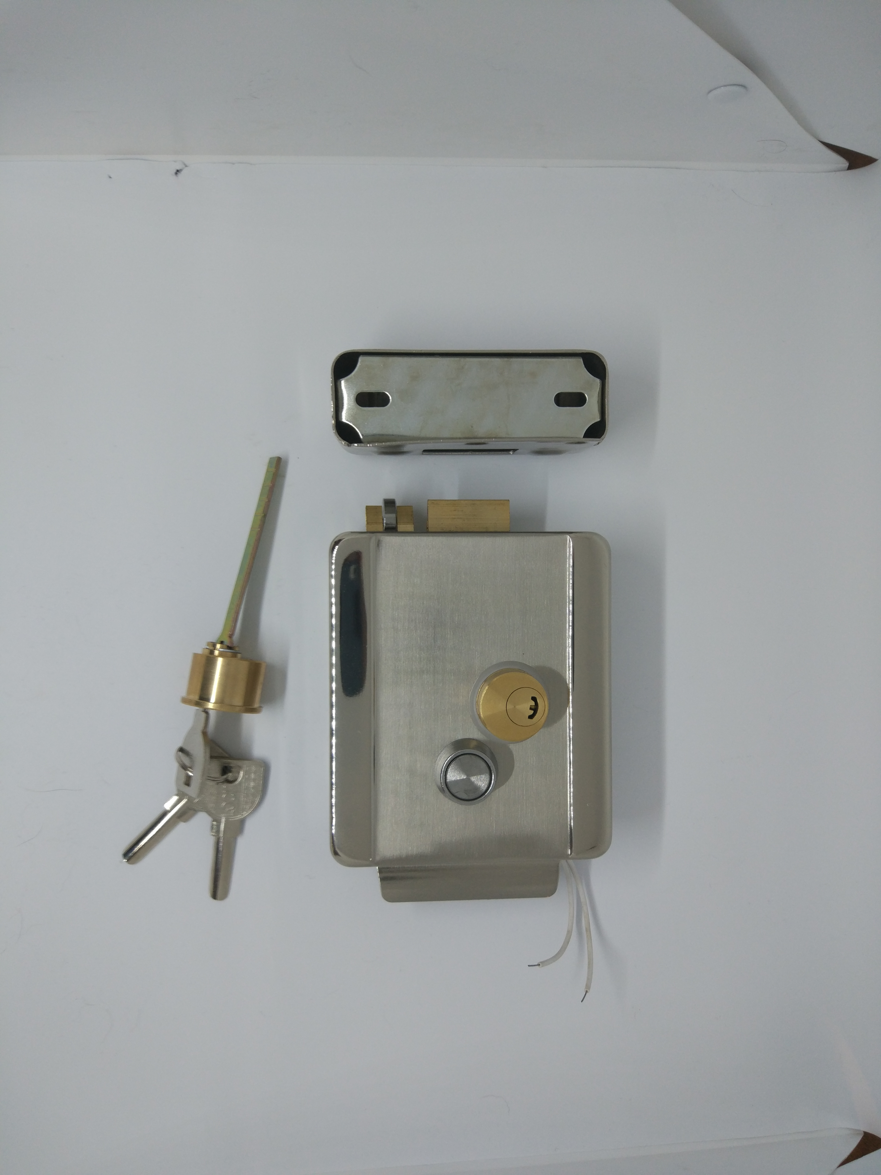 Laid On Electromechanical Lock FASS LOCK Ver.: 2.0