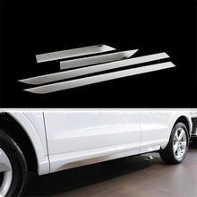 Передний бампер решетка снаружи прочный авто модифицированное дополнение охватывает наклейки ленты автомобилей тюнинговые молдинги 16 17 для Audi Q3