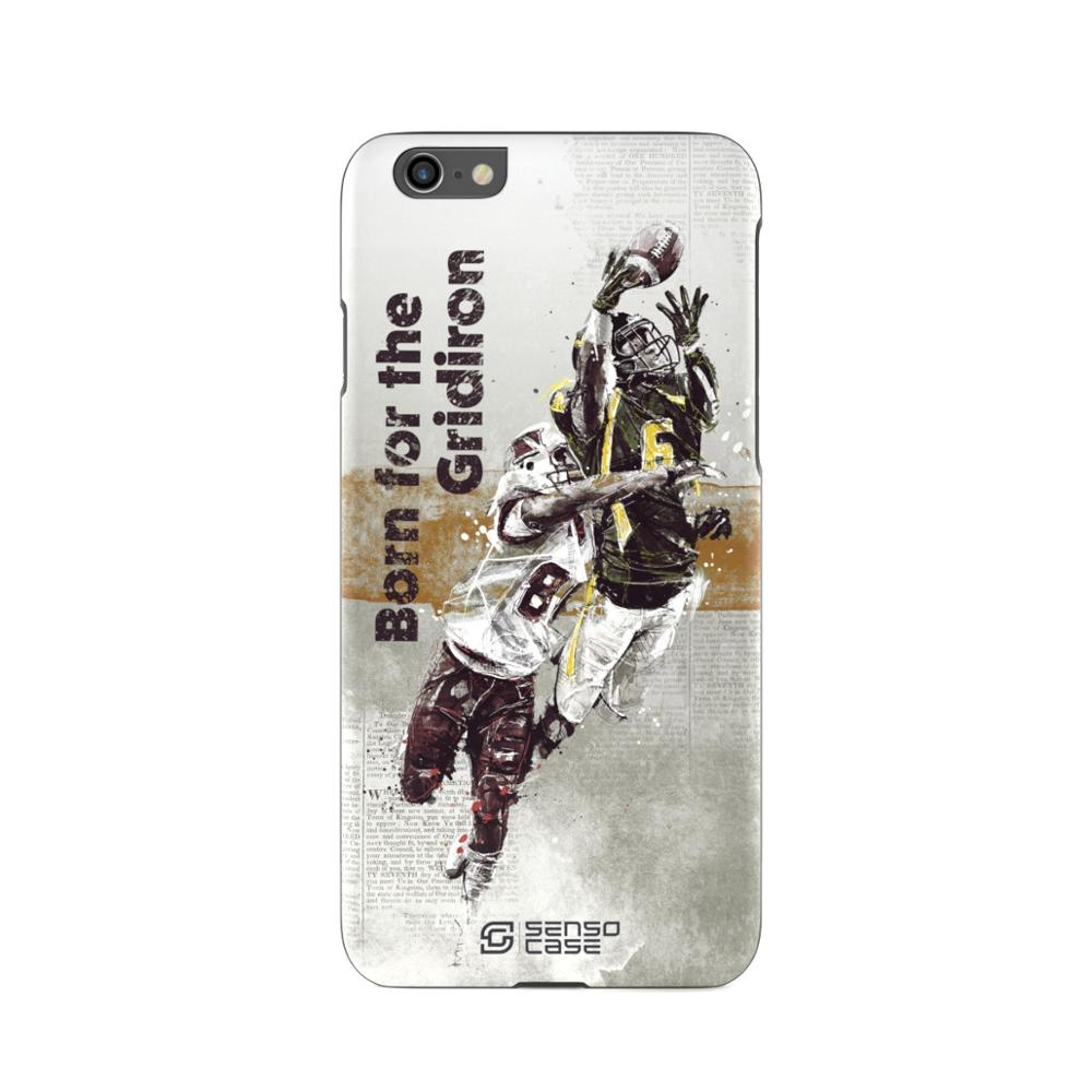 Protective Case SensoCase American football for Apple iPhone