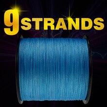 Здесь можно купить  Frwanf 100M 109Yards 9 Strands Japan Multifilament PE Braided Fishing Line Fishing Braided Wire for Carp Fishing Pesca