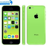 Originele Ontgrendeld iPhone 5C iOS Dual Core 16 GB/32 GB 8MP Camera 4.0 inches WIFI GPS 3G mobiele Telefoons