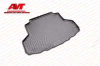 Trunk mats for Mitsubishi Lancer 9 2003 2007 1 pcs rubber rugs non slip rubber interior car styling accessories