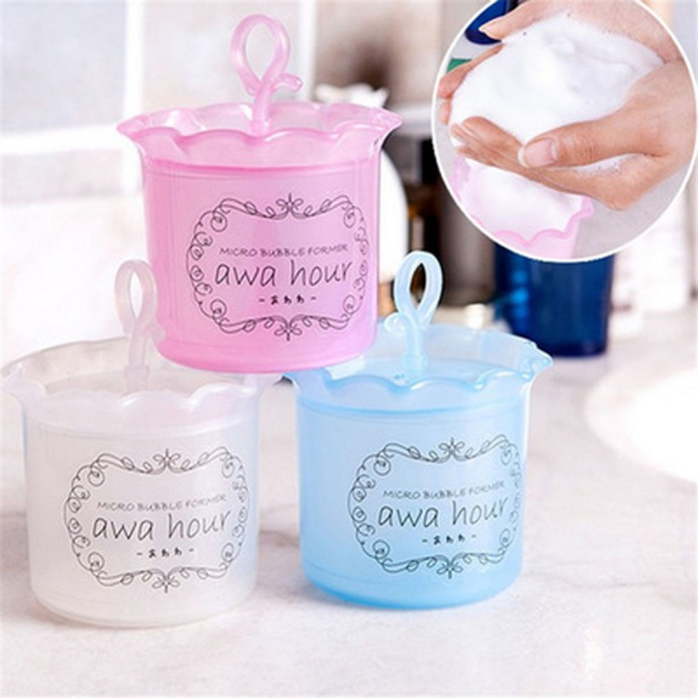 1pcs Facial Cleaning Cleanser Bubble Foaming Bottle Wash Clean ...