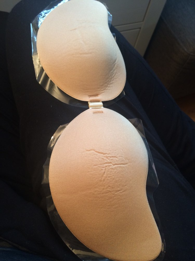Self Adhesive Strapless Invisible Bra photo review