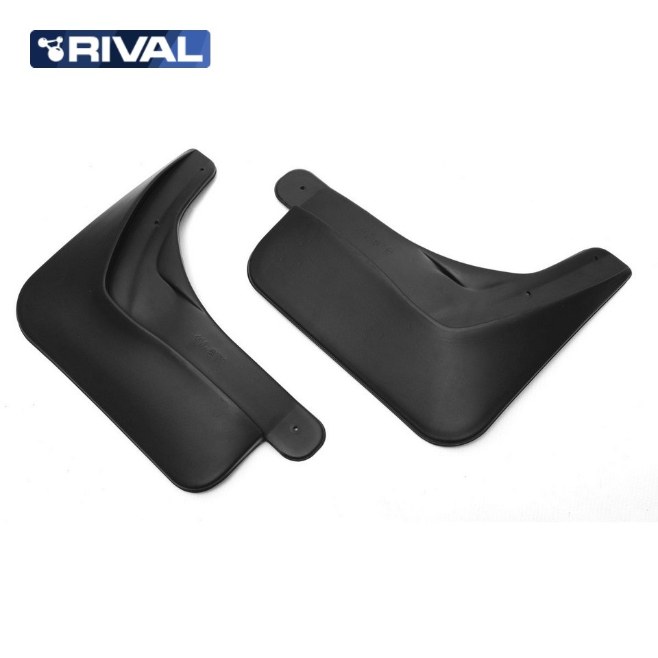 For Renault Kaptur 2016-2019 rear mudguards 2 pcs/set Mud Flaps Splash Guard Rival 24707002 high quality car mud flaps splash guard 4pcs plastic for bmw x5 e70 2008 2013