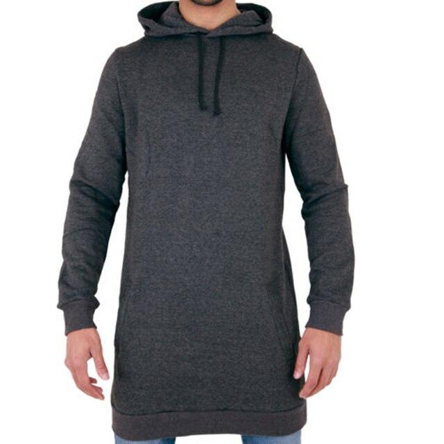 the latest e7210 95da4 US $24.98 |Fashion Fleece Hoodie Herren Einfarbig Hoodie Sweatshirt Marke  Kleidung Männer Beiläufige Hip Hop Hoody Pullover Herbst Winter 3XL in ...