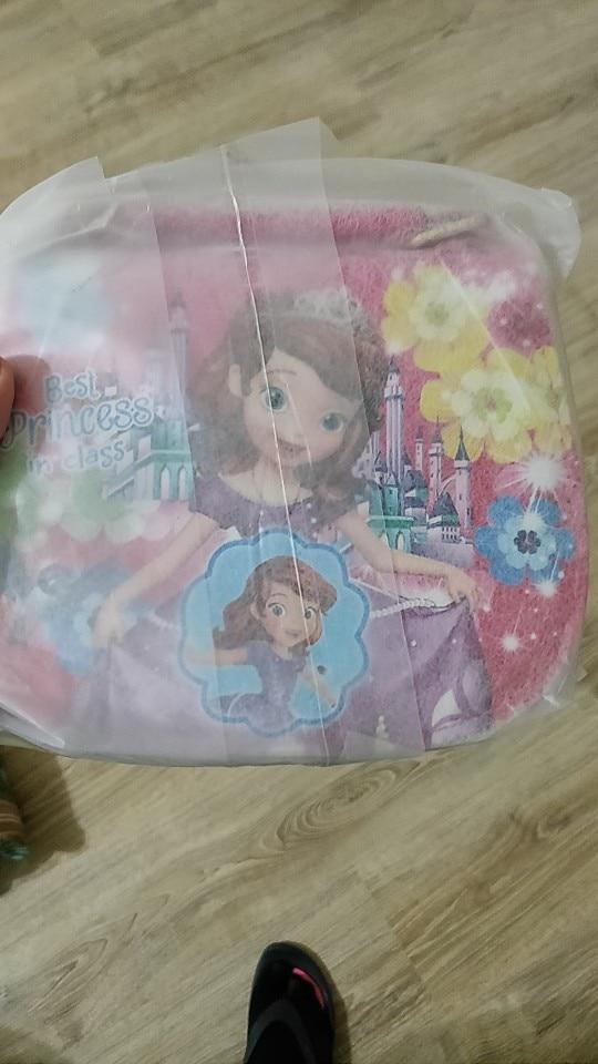 Nieuwe mode kinderen cartoon pu prinses patroon meisjes handtas mooie kinderen schoudertas meisjes kitty messenger bags voor meisjes photo review