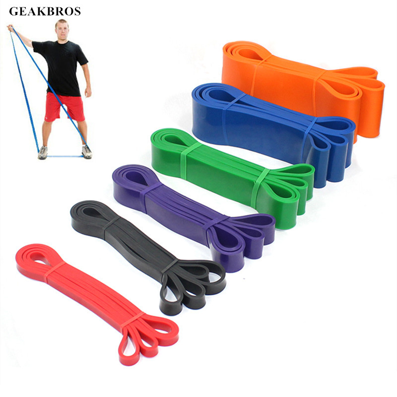 Stretch Resistance Bands Elastic Workout Rubber Loop Band Pilates Fitness Pull-Up Assist Bands For Cross Training Exercise Tool