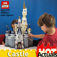 DHL Building blocks bricks Lepin 16008 Cinderella Princess Castle City Compatible With legoINGlys 71040 house toys for children