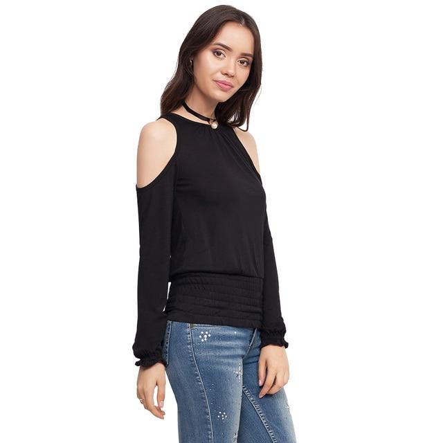 Блуза с открытыми плечами Gloria jeans женская GTS012244