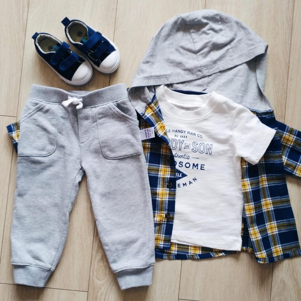 Комплект одежды для мальчика от Carter's Official Store с Алиэкспресс
