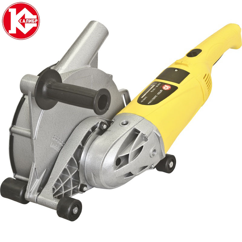 Kalibr SHTBE-2600/230M professional electric brick wall chaser machine for sale stone cutter machine wall groove machine new design two flute cutter for wood mdf special cutter for router machine a series