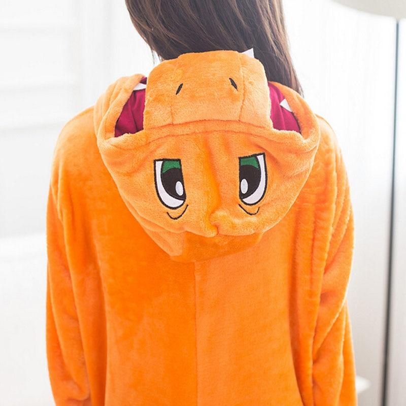 Pokemon Charizard Onesie Adult Women Men Pajamas Cartoon Animal Charmander  Dragon Costume ... f42a08c24