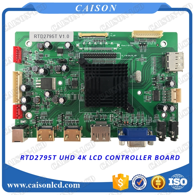 2HDMI+VGA+DP+Audio 4K LCD controller board with 3840*2160 цена и фото