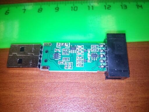 1PCS ST LINK Stlink ST-Link V2 Mini STM8 STM32 Simulator Download Programmer Programming With Cover A41