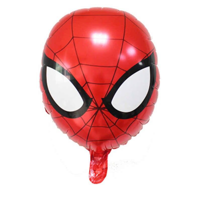 1 шт. воздушные шары из фольги Мстители на день рождения воздушные шарики для украшения Капитан Америка Железный человек Халк воздушные шары Человек-паук детские игрушки подарки