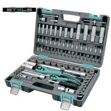 Набор инструментов STELS 14118 (94 предмета из высококачественной стали, кейс в комплекте)