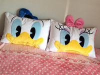 60 40cm Soft Donald Duck Daisy Duck Pillowcase Bedding Cushion Cover Kids Pillow Covers Decorative Case