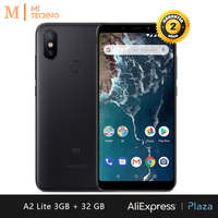[Global Version] Xiaomi Mi A2 Lite 3GB RAM + 32GB ROM (Smartphone 5.84 , Dual SIM, Battery 4000mAh, Android One)